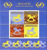 AZ-2014- CHINES NEW YEAR, ASERBEDIAN, S/S, MNH - Azerbeidzjan