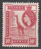 Kenya 1954 Queen Elizabeth II And Landscapes  10 C * LMM - Kenya, Uganda & Tanganyika
