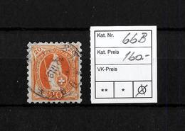 1882-1904 STEHENDE HELVETIA → SBK-66B    ►grobe Zähnung/11 Zähne Senkrecht, Super Zustand◄ - 1882-1906 Wappen, Stehende Helvetia & UPU