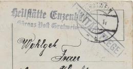 AK 0016  Die Besten Ostergrüße - Feldpost Militärpflege Heilstätte Enzenbach Um 1917 - Ostern