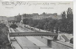AK 0016  Wien - Wienportal , Karolinen-Brücke & Johannesgasse / Verlag Ledermann Um 1915 - Wien Mitte