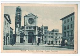 22307    CPA  GROSSETO  : Municipio - Cattedrale E Palazzo Provinciale  ! ACHAT DIRECT ! - Grosseto