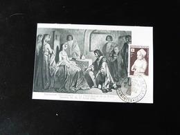 CARTE MAXIMUM   NANTES   LA CROIX ROUGE ET LA POSTE - 1950-59