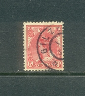 Grootrond Gilze Op Nvph 60 - Periode 1891-1948 (Wilhelmina)