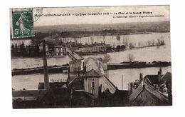 41 - Saint Aignan - La Crue De Janvier 1910 - Le Cher Et La Fausse Rivière - Saint Aignan
