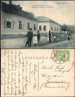 Banat - Delinesti / Delényes, Main Street W. Notary & Gendarmerie Barracks, Caras Severin 1915. - Romania