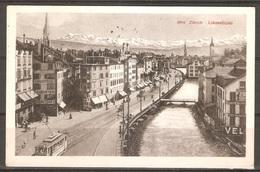Carte P ( Suisse / Zürich - Limmatquai ) - ZH Zurich