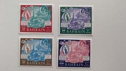 4x Briefmarken Bahrain 1966 Mi.Nr. 161-164 Postfrisch, MNH - Bahrein (1965-...)