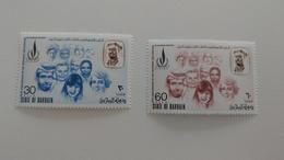 2x Briefmarken Bahrain 1973 Mi.Nr. 202-203 Postfrisch, MNH - Bahrein (1965-...)
