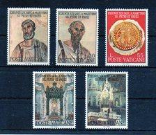 Vaticano - 1967 - 19° Centenario Del Martirio Dei SS. Pietro E Paolo - Serie Completa - 5 Valori - Nuovi - (FDC11545) - Unused Stamps