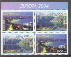 AZ 2004-573-4 EUROPA CEPT, ASERBEDIAN, 4v, MNH - Azerbaijan