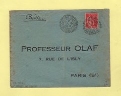 St Priest Des Champs - Puy De Dome - 29-6-1935 - Facteur Boitier 1967 - Marcophilie (Lettres)