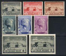 E17 - Belgium - 1939 - OBP 532/537B Mint Hinged - Music Foundation Queen Elisabeth - Belgien