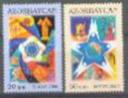 AZ 2006-638-9 EUROPA CEPT, ASERBEDIAN, 1 X 2v, MNH - Azerbaïdjan