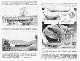 L'ARCHITECTURE NAVALE PRIMITIVE Dans L'EUROPE SEPTENTRIONALE   1894 - Boats