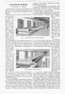 L'INDUSTRIE DES COURROIES De TRANSMISSION EN AMERIQUE   1894 - Sciences & Technique