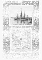LA CONQUETE Du POLE NORD    1894 - Sciences & Technique