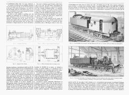 """LA LOCOMOTIVE à VAPEUR ELECTRIQUE De  """" M . J - J  HEILMANN """"   1894 - Railway"""