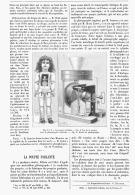 LA POUPEE PARLANTE De M . JUMEAU    1894 - Other Collections
