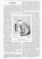 LE COLORISCOPE Et La COLORATION Des VINS   1894 - Vino