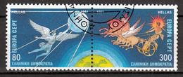 Griekenland Mi 1777,1778 A Europa Cept 1991 Gestempeld  Fine Used - Europa-CEPT