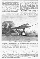 LES AEROPLANES Et La MACHINE De M. MAXIM  1894 - Transports