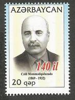 AZ-2010 FASMOUS PERSONS, ASERBEDIAN, 1 X 1v, MNH - Aserbaidschan