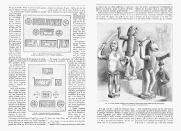 LES STATUES DES ROIS De DAHOME Au Musée ETHNOLOGIQUE Du TROCADERO   1894 - Art Africain