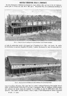 NOUVEAU RESERVOIR D'EAU à  BORDEAUX  1894 - Aquitaine