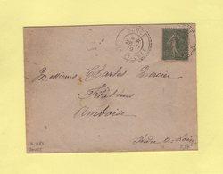 Souge - Loir Et Cher - 28-11-1919 - Facteur Boitier 1383 - Marcophilie (Lettres)