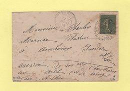 Soings - Loir Et Cher - 20-11-1918 - Facteur Boitier 1382 - Marcophilie (Lettres)