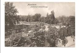 Mannheim. Lindenhof- Ueberführung. ( 1907 ) - Mannheim
