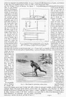 """UN TRAINEAU SUEDOIS """" LE SPARKSTOTTING """"    1894 - Other Collections"""