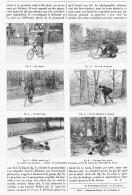 UNE PRMIERE SORTIE à BICYCLETTE  1894 - Transports