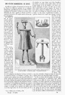 UNE STATUETTES DAHOMEENNE En FONTE  1894 - Art Africain