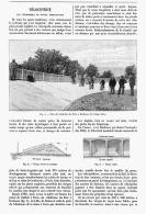 VELOCIPEDIE : LES VELODROMES Ou PISTES PERMANENTES ( Piste Du Velodrome De BORDEAUX )   1894 - Transportation