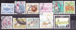 Sudan 1962 -Serie Non Completa Usata - Sudan (1954-...)