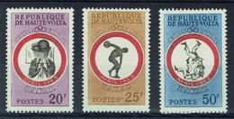 "Upper Volta (Burkina Faso), ""Friendship Games"" In Dakar, 1963, MH VF, Complete Set Of 3 - Upper Volta (1958-1984)"
