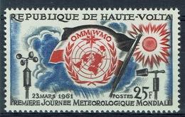 Upper Volta (Burkina Faso), World Meteorological Day 1961, MH VF - Upper Volta (1958-1984)