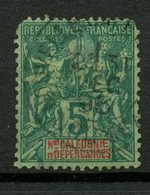 New Caladonia 1892 5c Navigation And Commerce Issue #43 - New Caledonia