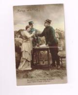Mariage Sur Le Front.Mes Enfants,tous Mes Voeux De Bonheur.Soyez Fidèles à L'amour,à L'honneur. - Weltkrieg 1914-18