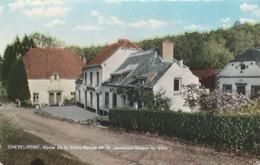 Chevlipont , Chevelipont , Villers-la-ville, Home De La Croix Rouge De La Jeunesse  ,( Colorisée ) - Villers-la-Ville
