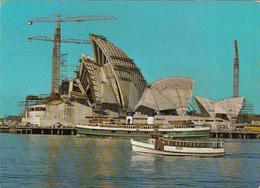 AUSTRALIA - Sydney Opera House 1966 - Under Construction At Bennelong Point - Sydney