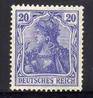 Deutsches Reich, 1915/19, Mi  87 B II, * [260818LAII] - Deutschland