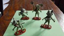 Britains , England, 1980 Figures, Space Stargards Moster Mutants Cyborgs - Autres