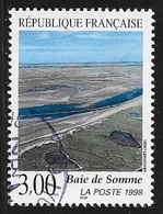 TIMBRE N° 3168  FRANCE - OBLITERE  -  BAIE DE SOMME  -  1998 - Oblitérés