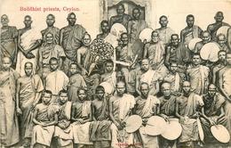 Sri Lanka * Ceylon * Buddhist Priests * Bouddhisme - Sri Lanka (Ceylon)