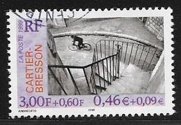 TIMBRE N° 3265  FRANCE - OBLITERE  -  HENRI CARTIER BRESSON -  1999 - Usati