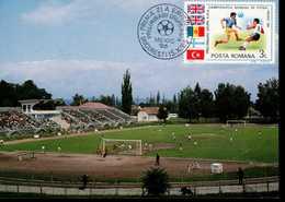 Rumänien 4197 Fußballweltmeisterschaft 1 MK Used Gestempelt - Maximumkarten (MC)