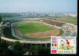 Rumänien 4196 Fußballweltmeisterschaft 1 MK Used Gestempelt - Maximumkarten (MC)